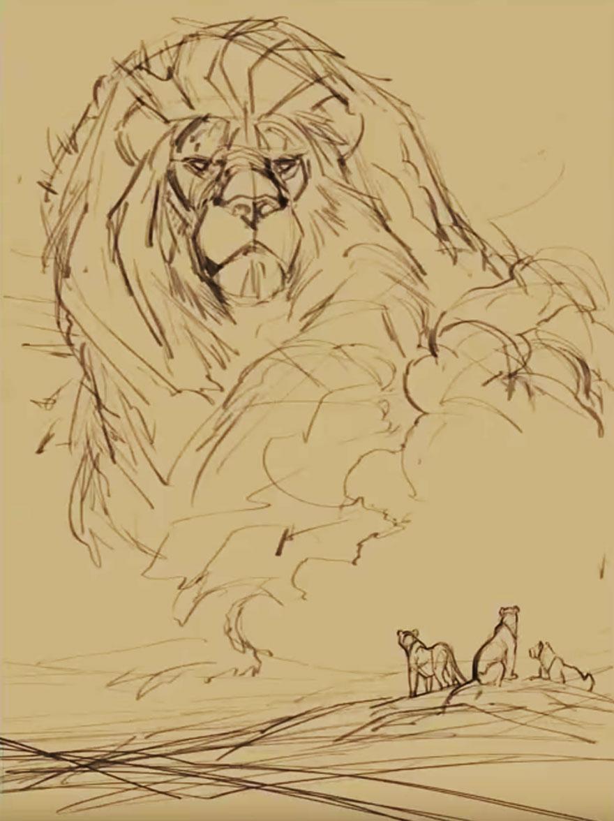 tributo-rey-leon-cecil-animador-disney-aaron-blaise- (1)