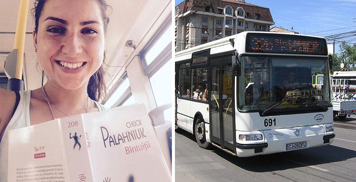 En esta ciudad rumana los pasajeros del autobús viajan gratis si van leyendo un libro