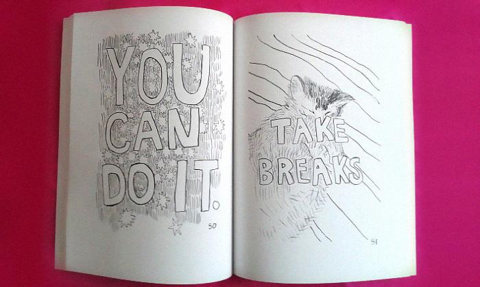 Este libro de colorear con mensajes positivos es todo lo que ...