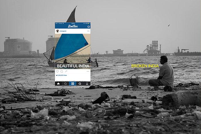 La realidad tras las fotos turísticas: recortar lo cambia todo