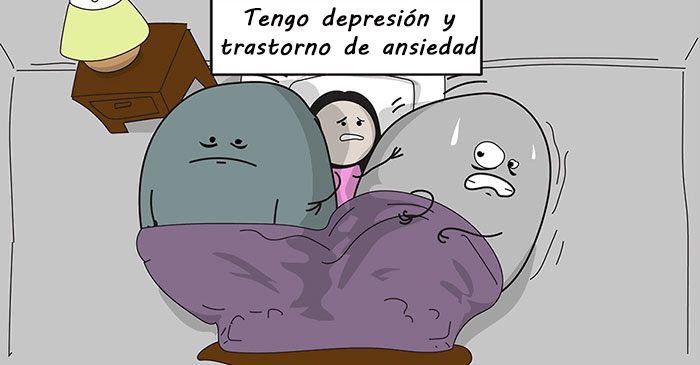 Este cómic explica perfectamente por qué es tan difícil luchar contra la depresión y la ansiedad