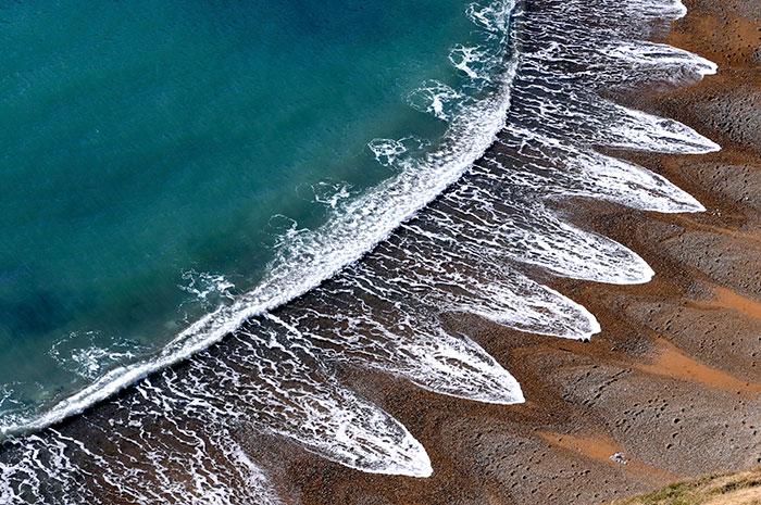 Los científicos no pueden explicar estas misteriosas formaciones naturales en las playas