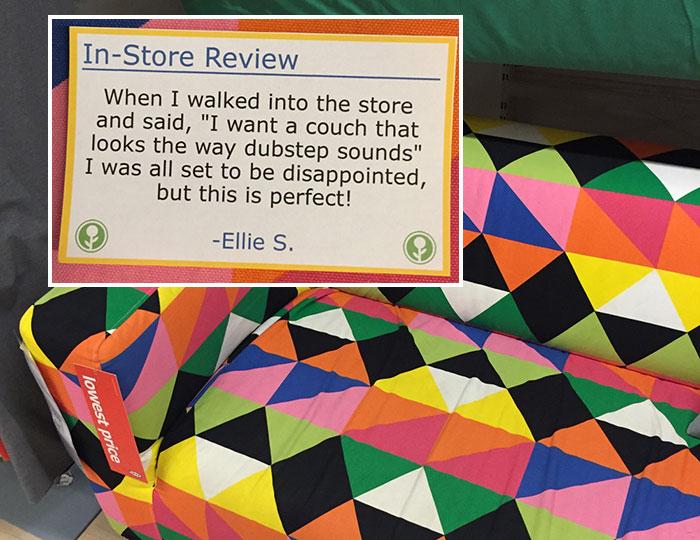 Este hombre troleó a Ikea poniendo reseñas falsas por toda la tienda