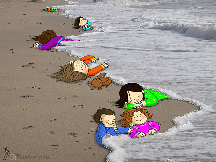respuesta-artistica-nino-refugiado-sirio-ahogado (4)