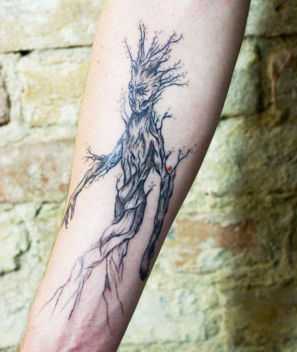 Estos Tatuajes Inspirados En La Naturaleza Siguen Las Venas Del