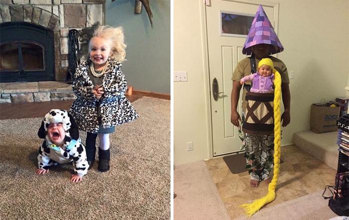 17 disfraces de Halloween para bebés tan adorables que asustan