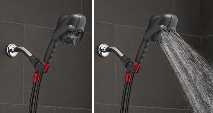 Con estas duchas de la Guerra de las Galaxias puedes bañarte en lágrimas de Darth Vader