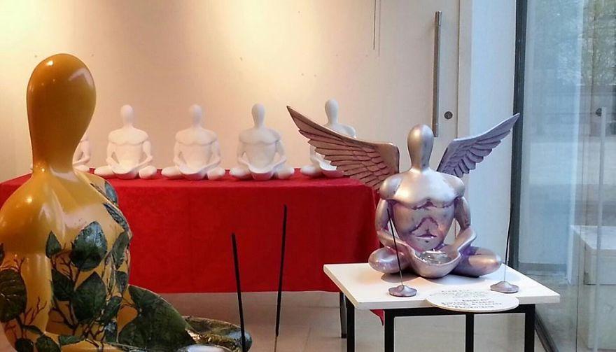 Buda Cuántico Angel