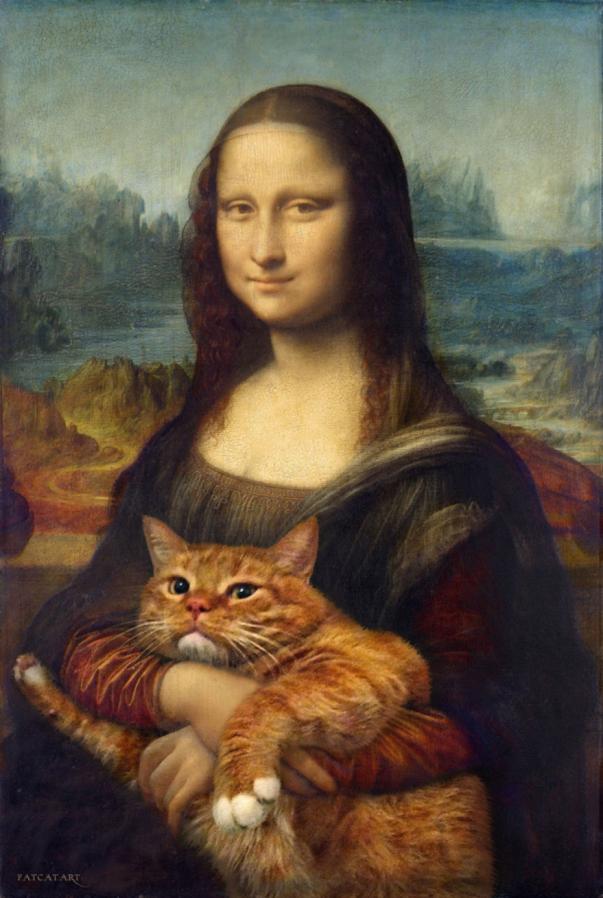 pinturas-famosas-con-gato-Ginger-svetlana-petrova (8)