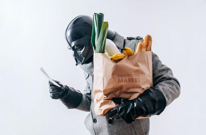 La vida diaria de Darth Vader: Mi proyecto fotográfico de 365 días