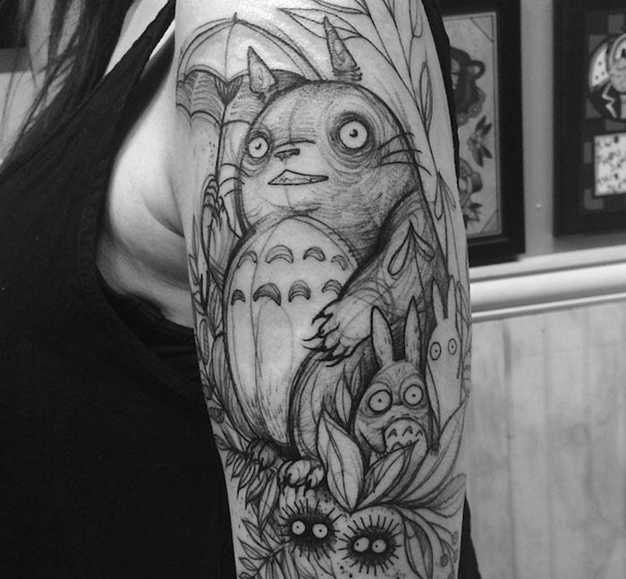 Tatuajes Esbozados Que Parecen Dibujos A Lápiz Por Nomi Chi Bored