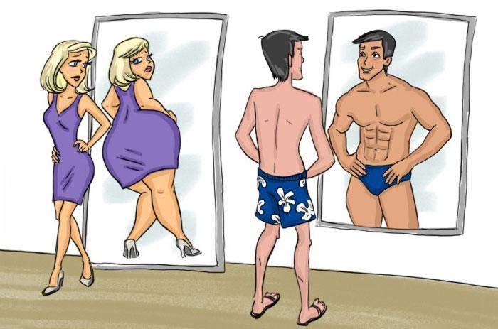 f0027dc9ef0e Mujeres VS hombres: 14 diferencias entre ambos géneros ilustradas ...