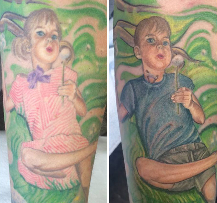 Esta madre actualizó su tatuaje para apoyar a su hijo transexual