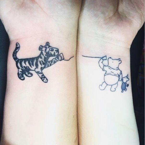15 Tatuajes De Madre E Hija Que Muestran Su Vínculo Irrompible