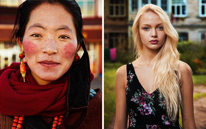 Esta Fotógrafa Rumana Retrata A Mujeres De Distintos Países Para