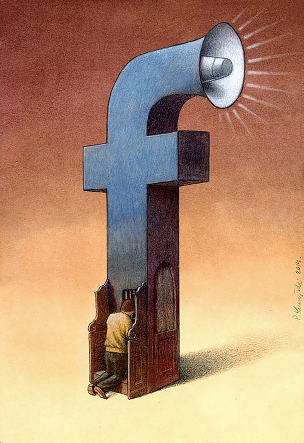 >>>Ilustraciones Satíricas..>>> - Página 3 Ilustraciones-satiricas-adiccion-tecnologia-10
