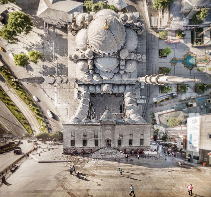 Alucinantes fotos de Estambul que parecen salidas de la película Origen
