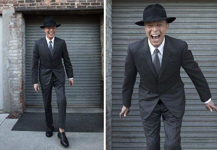 La última sesión fotográfica de David Bowie antes de su muerte