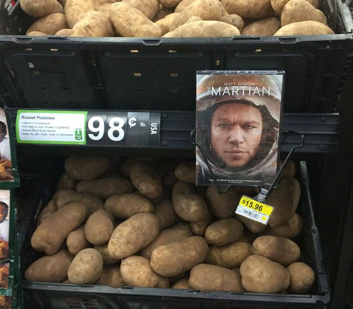 Cómo anunciar patatas