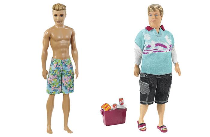 Este es el novio de la Barbie realista: Ken fuera de forma