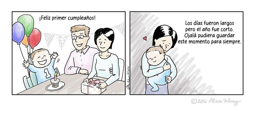 15 Cómics que captan de forma precisa el primer año de maternidad