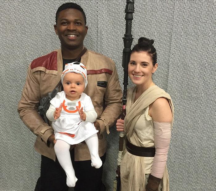 Esta familia hace cosplay junta y la Fuerza es muy poderosa en ellos