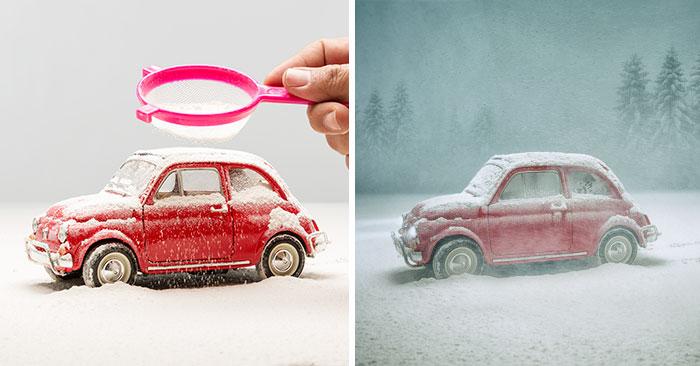 Este fotógrafo mexicano retrata pequeños juguetes con gran imaginación