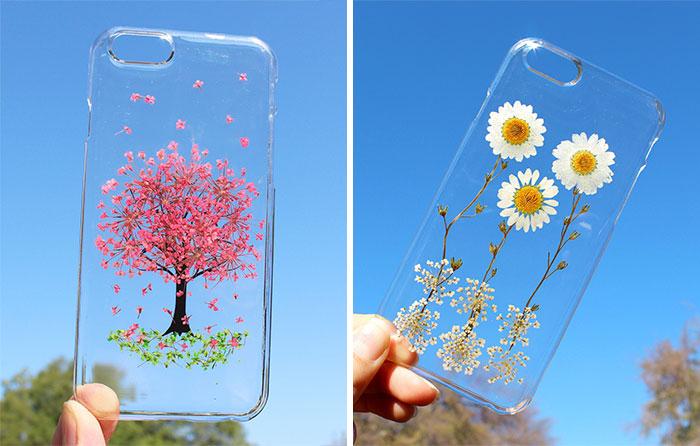 2ee8b73337e Fundas para el móvil con auténticas flores para celebrar la primavera |  Bored Panda