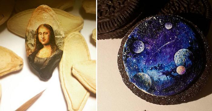 Las sorprendentes pinturas en miniatura de Hasan Kale rompen todos los esquemas de nuestra percepción