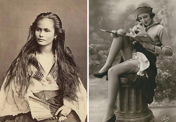 e37c0e28e788 La belleza de las mujeres hace 100 años en postales antiguas de 1900-1910 |  Bored Panda