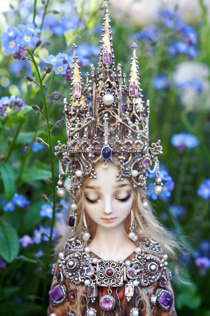 Muñecas de porcelana terriblemente realistas creadas por una artista rusa (NSFW)