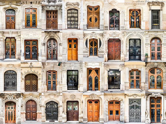 Este fotógrafo viaja por el mundo captando la belleza de puertas y ventanas