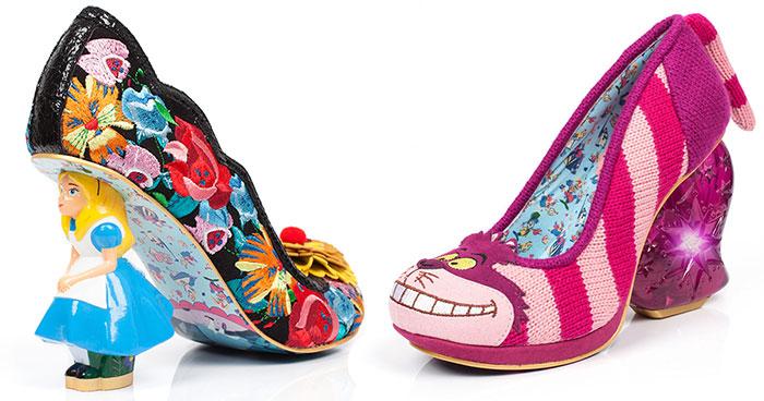 Alicia en el País de las Maravillas nos inspiró para crear estos zapatos