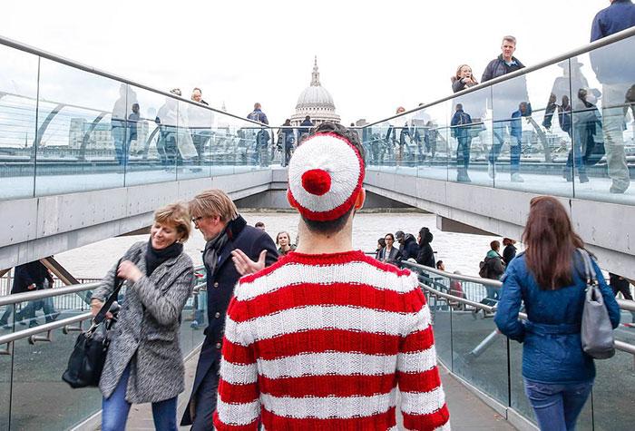 '¿Dónde está Wally?' viaja por el mundo real buscando tratamientos para el cáncer