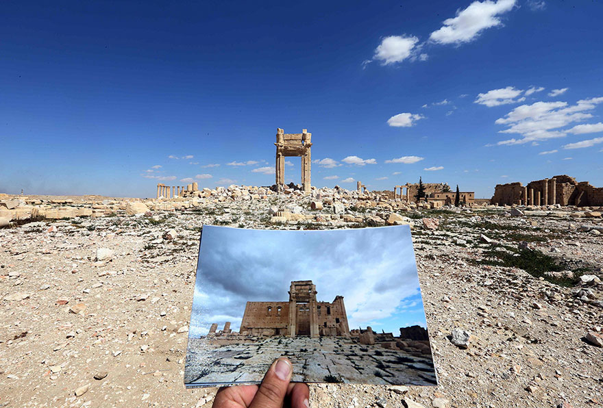 Resultado de imagen para palmira siria