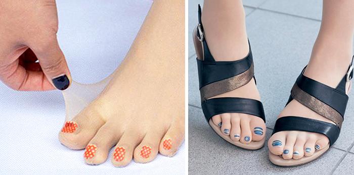 Estas medias con las uñas pintadas son la última moda en Japón