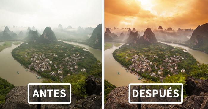 Este fotógrafo revela cuánto Photoshop tienen las imágenes de internet