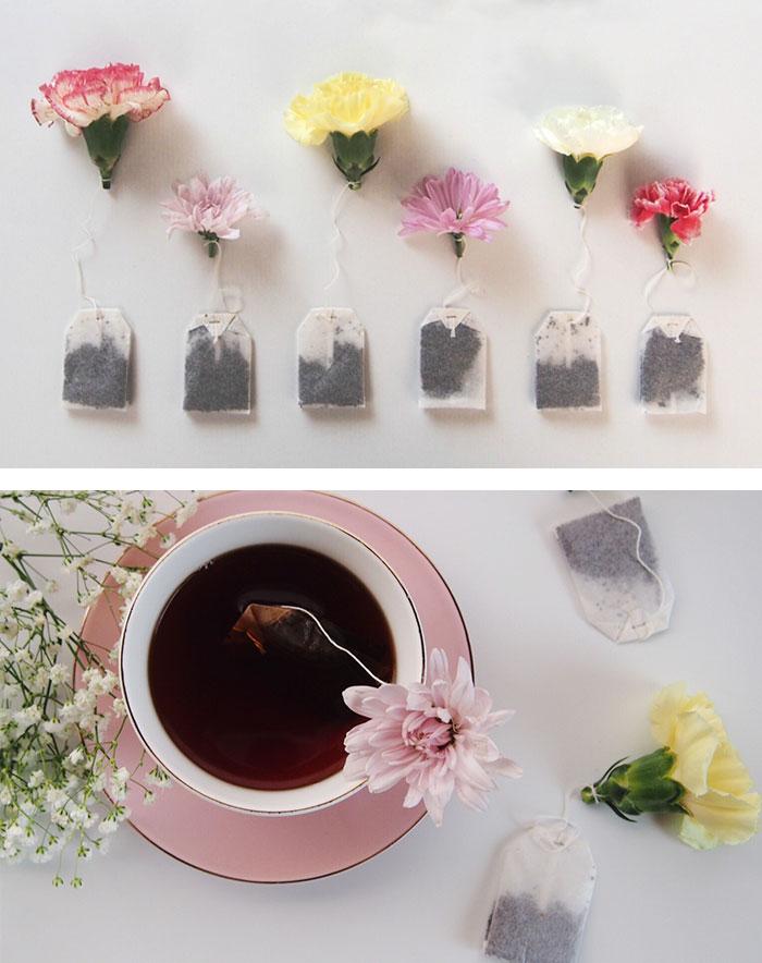 0b51e7394 15 Diseños creativos de bolsas de té para los que adoran beberlo ...