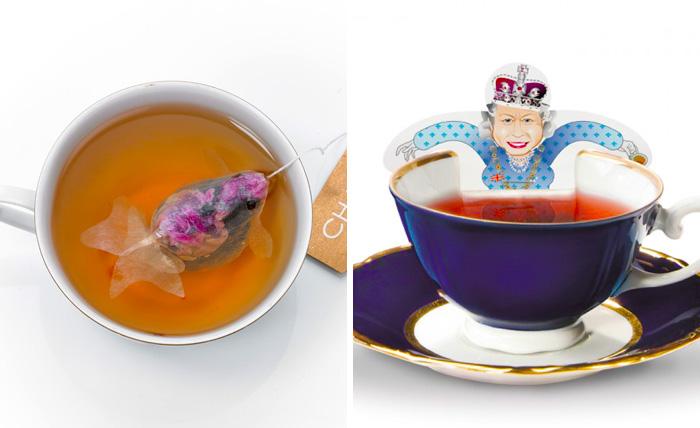 15 Diseños creativos de bolsas de té para los que adoran beberlo