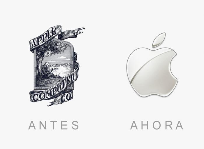 20 Logotipos famosos antes y ahora