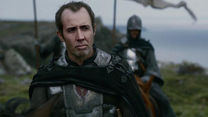Cómo sería si Nicholas Cage hiciera de todos los personajes en Juego de Tronos