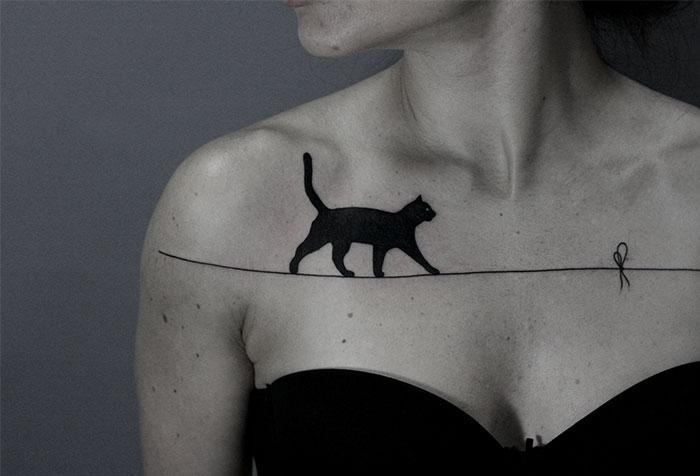 Los surreales tatuajes de este bielorruso harán que quieras tatuarte