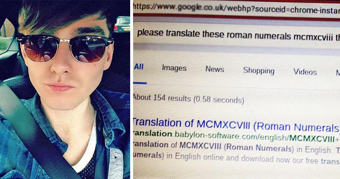 Este hombre comparte la educada búsqueda en Google de su abuela y se vuelve viral