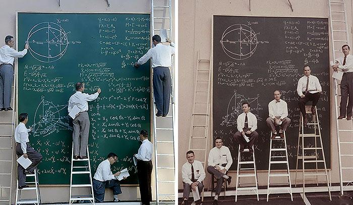 La NASA antes de existir Powerpoint en 1961