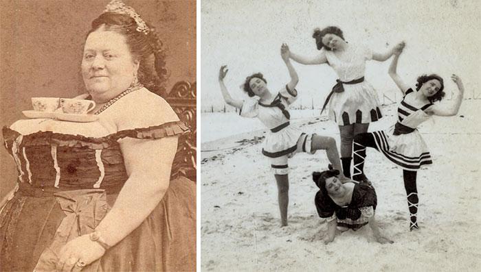 15 Curiosas fotos victorianas demostrando que no eran tan serios como parecían