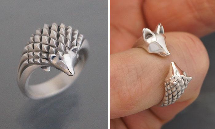 Creo joyería en formas animales con plata y bronce