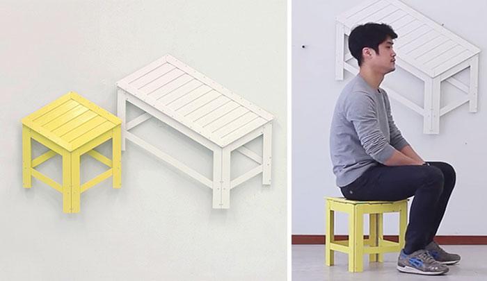 Mobiliario 2D para pisos pequeños