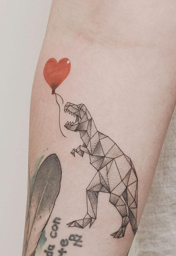 Tatuajes Geometricos De Jasper Andres Fusionan Preciosamente La Geometria Con La Naturaleza Bored Panda Superorden de vertebrados saurópsidos que dominaron la era mesozoica. bored panda