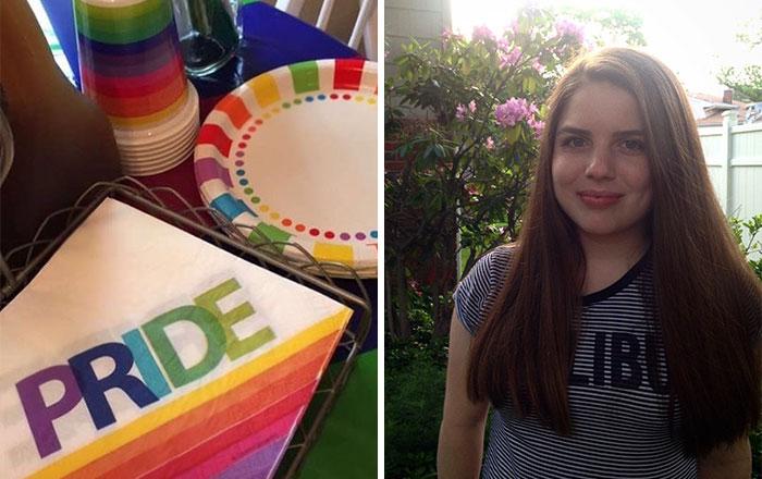Estos padres le prepararon a su hija la mejor fiesta del orgullo gay después de que saliera del armario