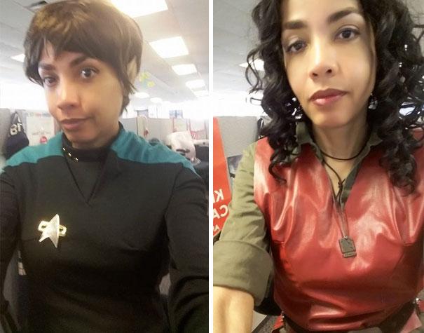 """La jefa de esta mujer le dijo que llevar pañuelo era """"poco profesional"""" así que fue a trabajar en cosplay"""